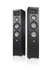 JBL Studio 280 Black Pair without Grilles